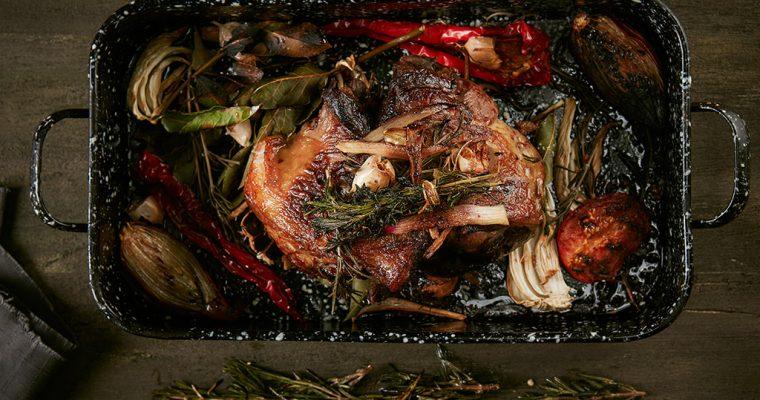 Die perfekte Lammhaxe fürs Oster-Menü