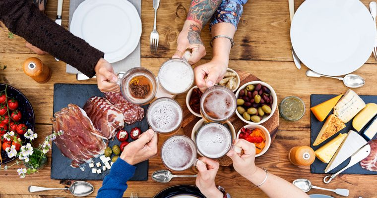 Oktoberfest-Gaudi für zu Hause: unser Jause-Baukasten