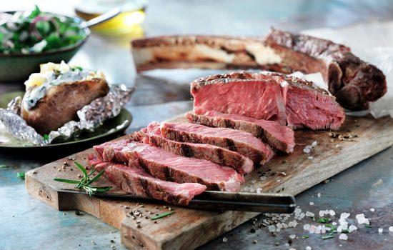 Für echte BBQ-Gourmets: Scotland Hills Weideochsen- und Highlandlammfleisch
