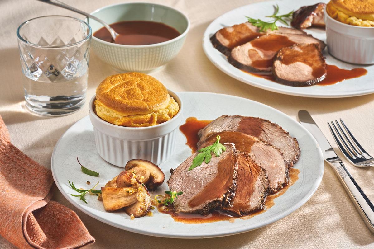 Rezept zum Fest: Sauerbraten à la francaise