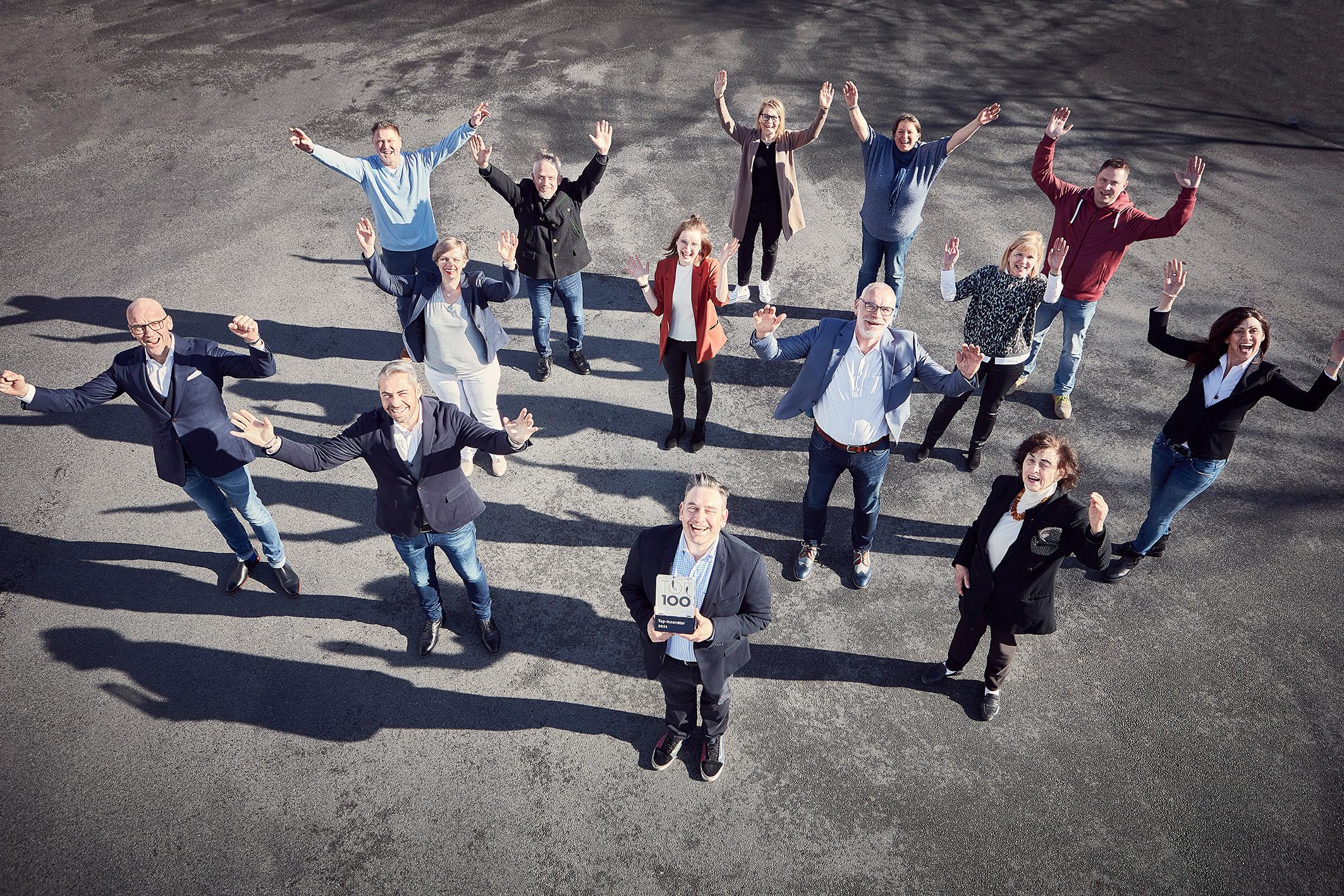 Wir sind TOP 100-Innovator 2021!