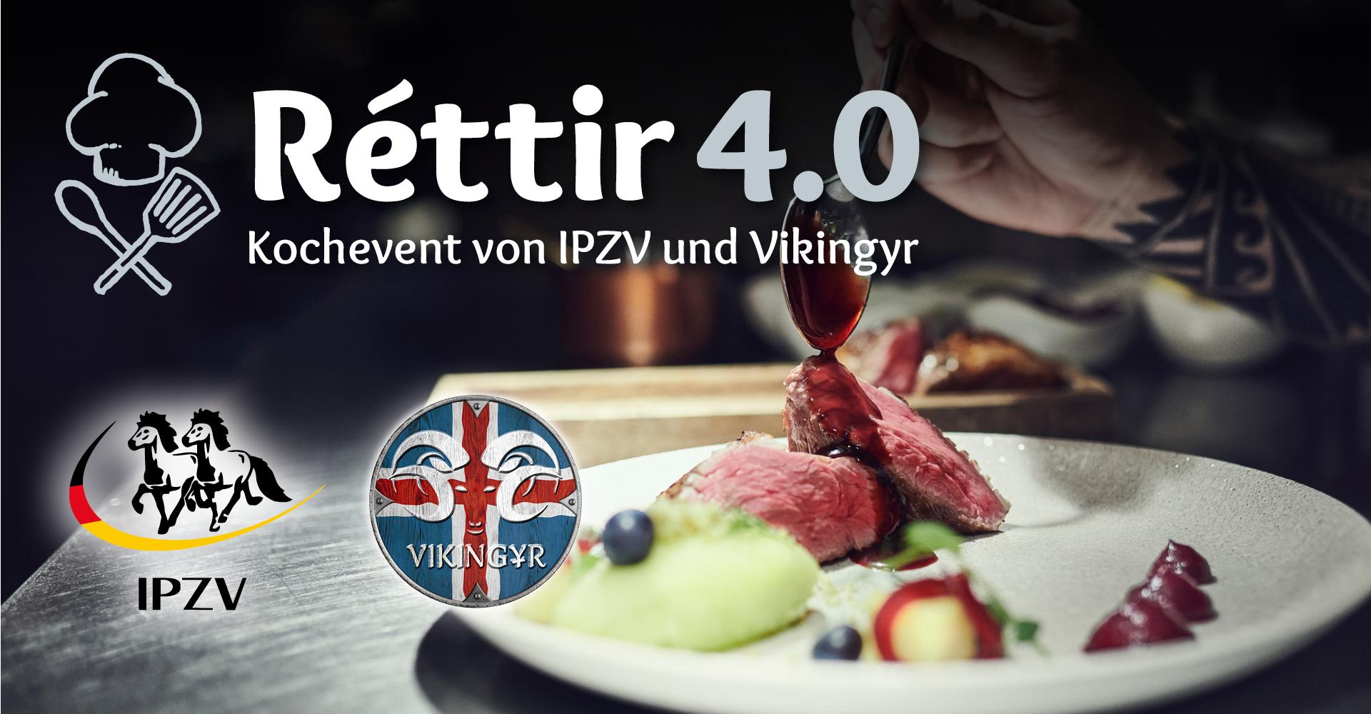 Réttir 4.0 – Kochevent von IPZV und Vikingyr
